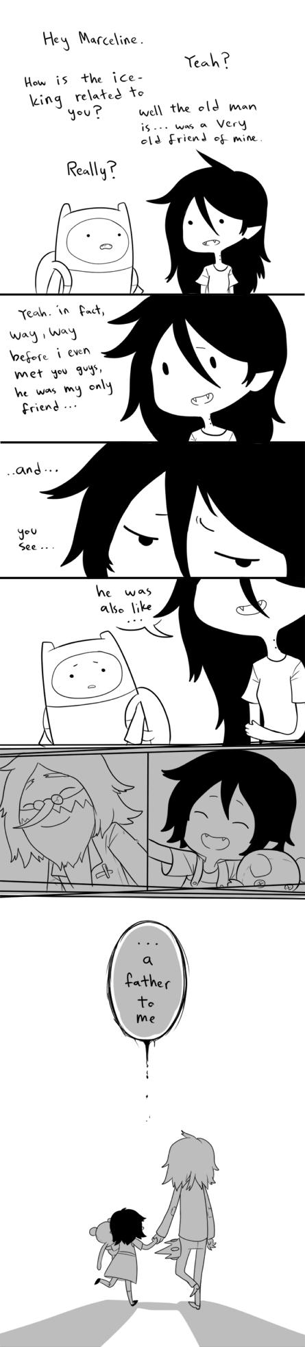 Adventure Time- He was like... by ShiroiAngelz