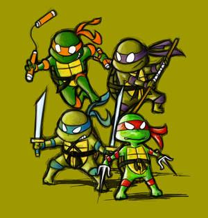 Little ninja turtles