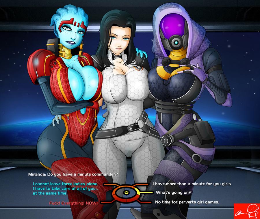 Mass Effect 3 Mass_effect__miranda_team_by_witchking00-d3dflfo
