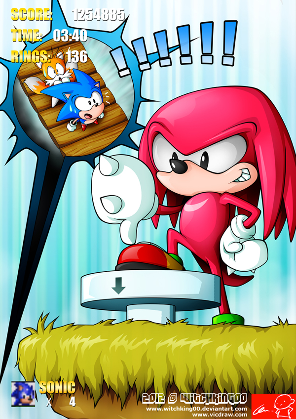 sonic 3 16bits tribute ii by witchking00 on deviantart. Black Bedroom Furniture Sets. Home Design Ideas