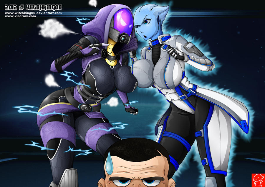 TALI vs LIARA by Witchking00