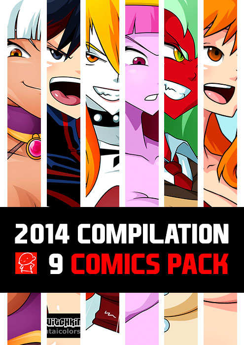 2014 COMICS PACK 01 AVAILABLE NOW by Witchking00