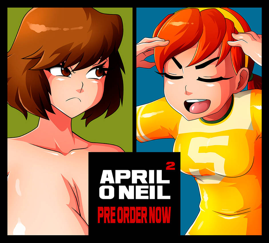 APRIL O'NEIL 02 PRE-ORDER AVAILABLE NOW!! :) By
