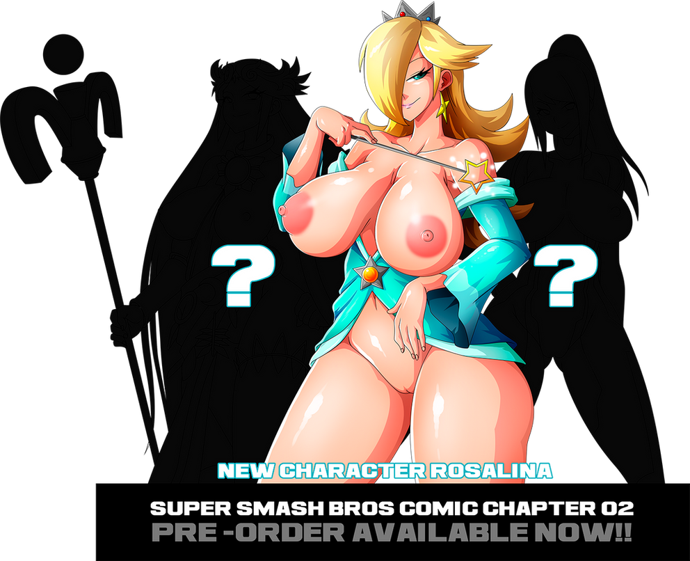 SMASH BROSS CHAPTER 02 PRE-ORDER AVAILABLE NOW! :) by Witchking00