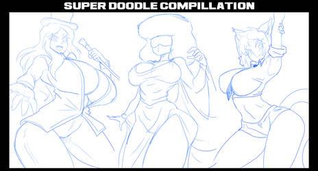 SUPER DOODLES COMPILATION!!