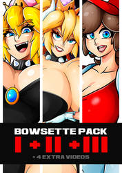 BOWSETTE PACK (1+2+3) by Witchking00