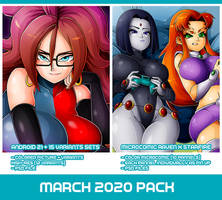 March 2020 Pack