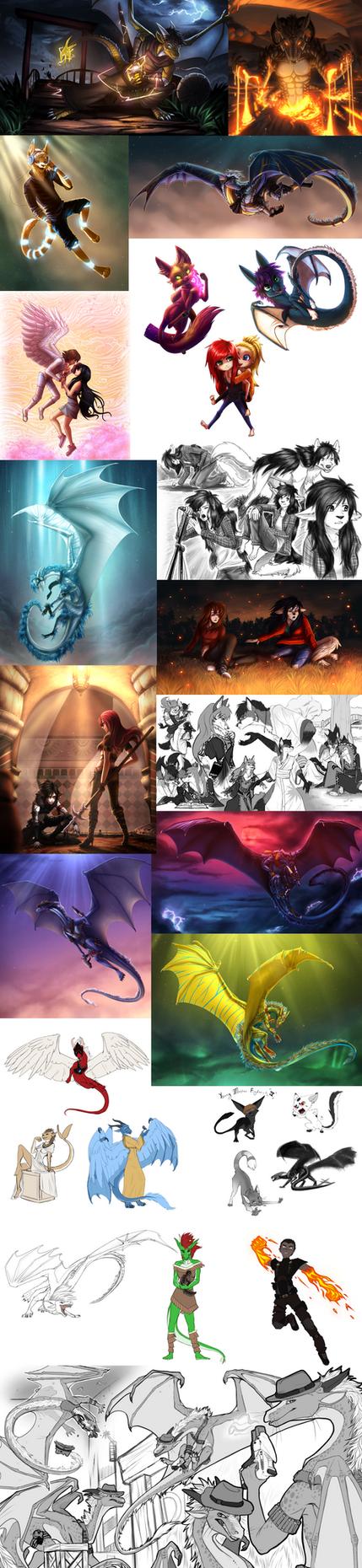 Commission Batch #1 by Ilkyra