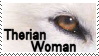 Therian Woman Stamp by doublelunar-stock