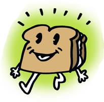 A sandwich by ChanterelleandMay