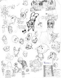Doodles by ChanterelleandMay