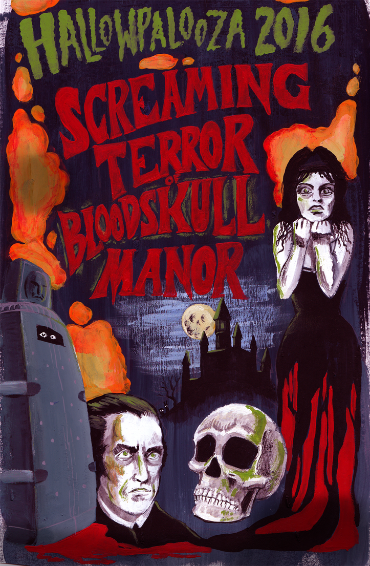 Hallowpalooza 2016: Screaming Terror of Bloodskull by ChanterelleandMay