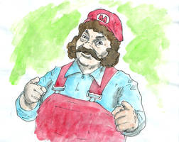 Captain Lou Albano as Mario