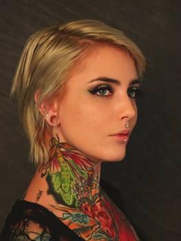The Tattooed Girl #1
