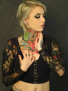 The Tattooed Girl #2