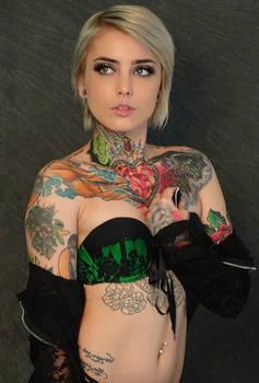 The Tattooed Girl #3