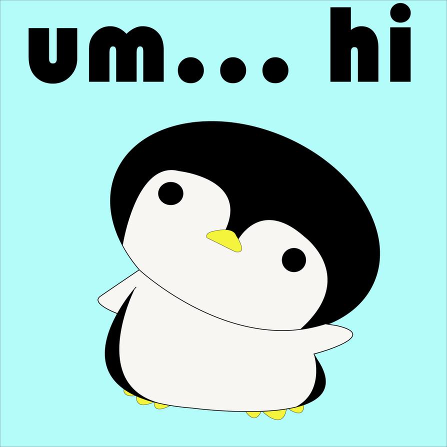 Baby penguin art - photo#11