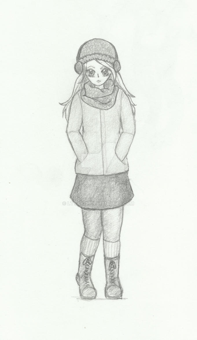Self-manga-portrait by LtTaiga