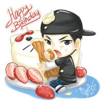 BLOCK B Zico birthday by syewe-yoss