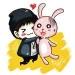 BLOCK B Taeil + Anipang Bunny