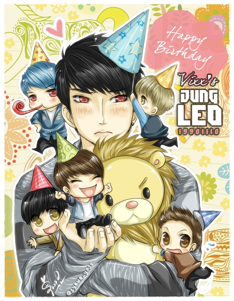 VIXX 07 Leo birthday by syewe-yoss