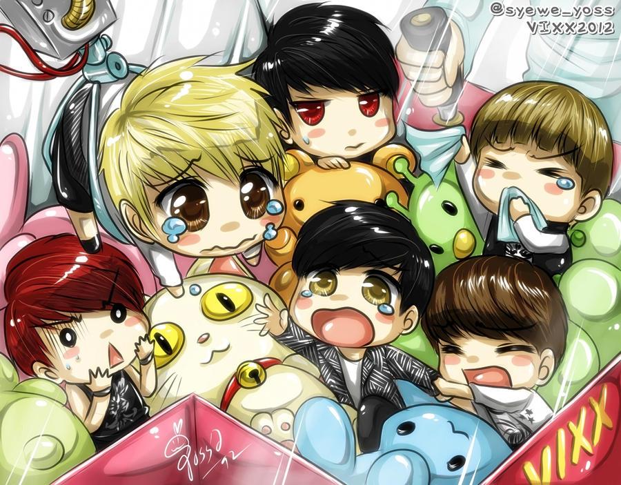 VIXX 07 Saving maknae Hyuk! by syewe-yoss