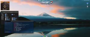 Windows 10 ultrawide desktop setup