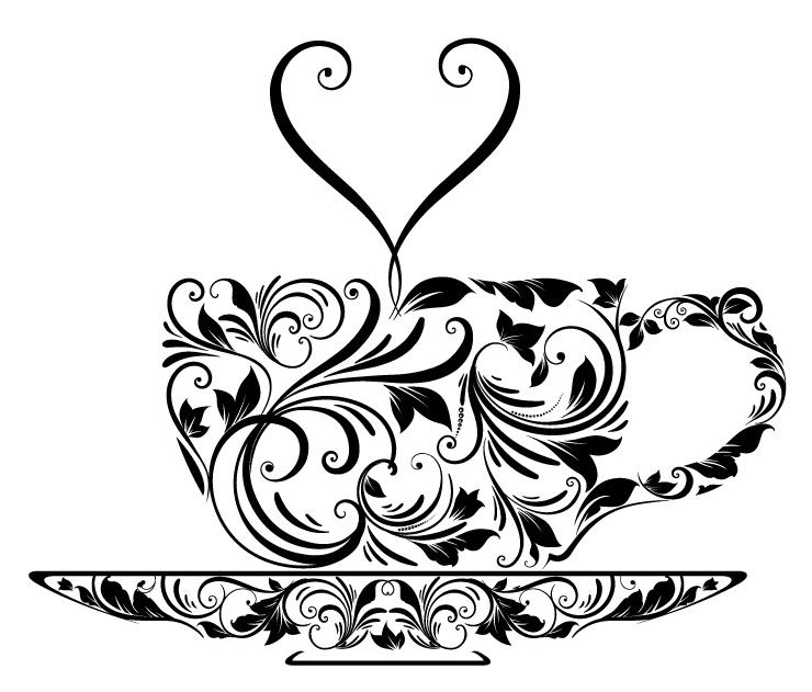 Tea Cup Design Template
