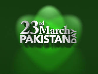 Pakistan Day by Digital-Saint