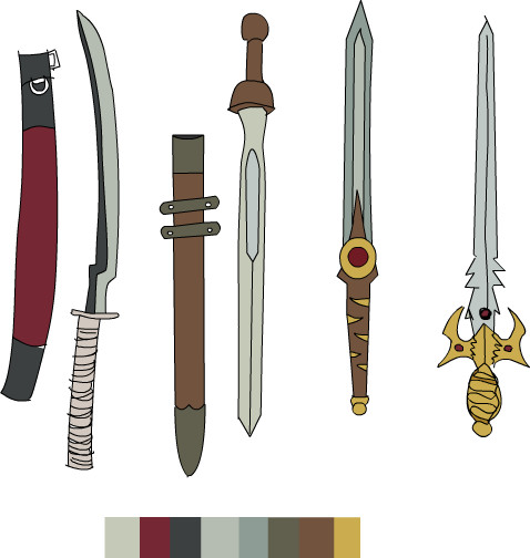 sword designs by Robinaa on DeviantArt