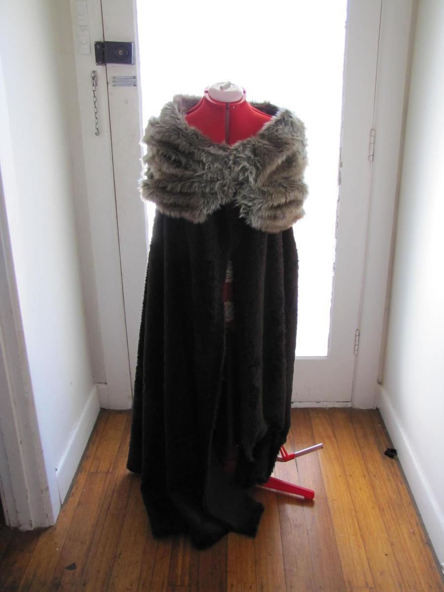 how to make a fur cloak