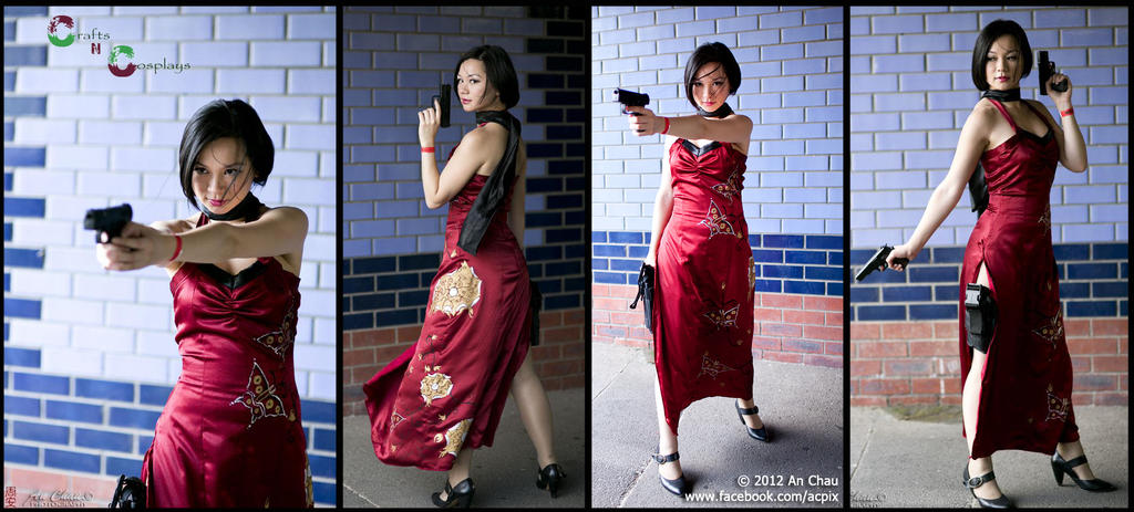 Ada Wong - Resident evil by Robinaa