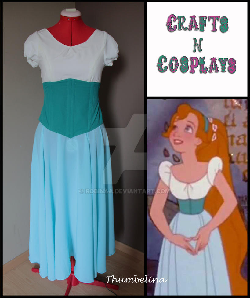 Thumbelina Cosplay by Robinaa