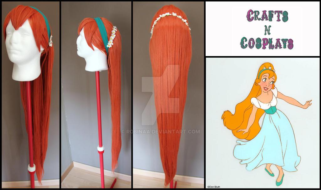 Thumbelina wig by Robinaa
