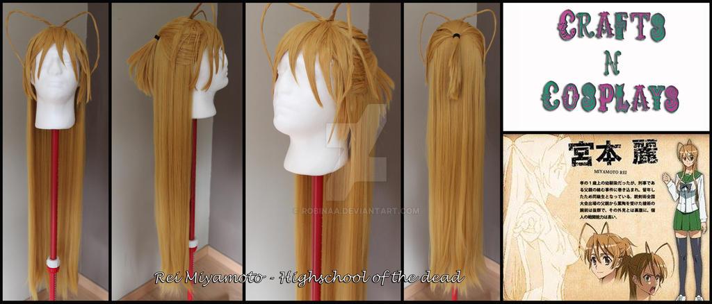 Rei Miyamoto wig by Robinaa