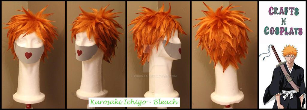 Kurosaki Ichigo wig by Robinaa