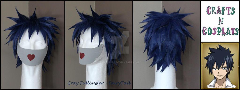 Gray Fullbuster Wig by Robinaa