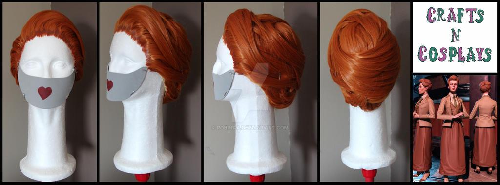 Rosalind Lutece wig - Bioshock by Robinaa