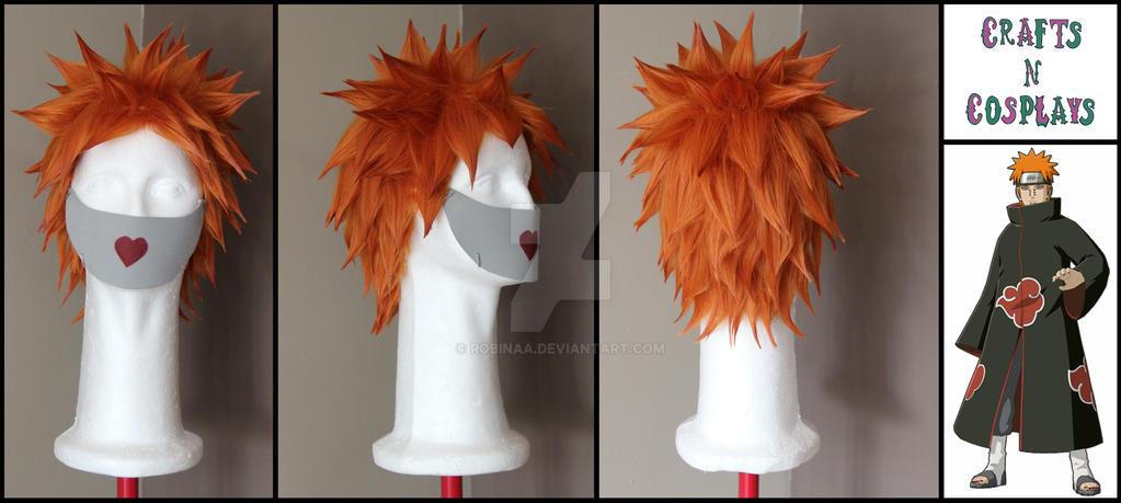 Pain (Naruto) wig by Robinaa