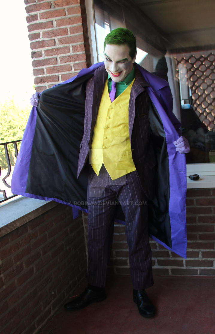 Joker Cosplay by Robinaa
