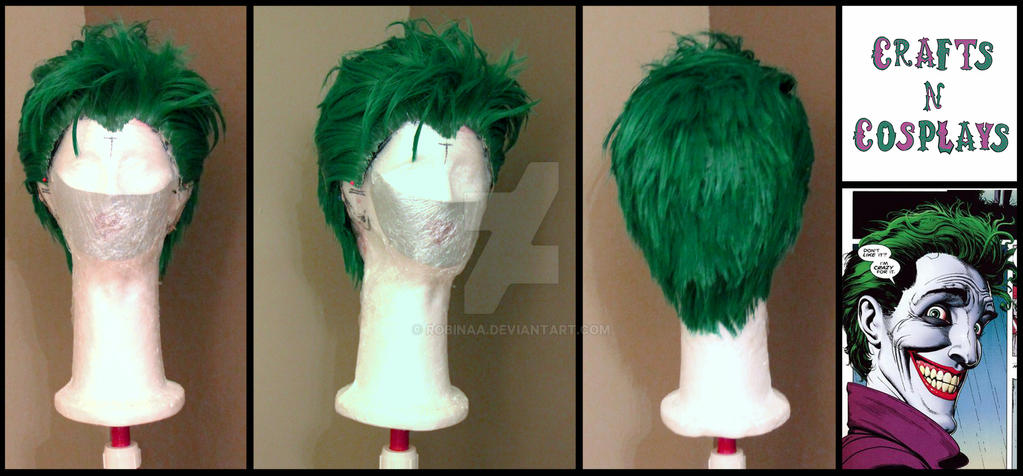 Joker Wig by Robinaa