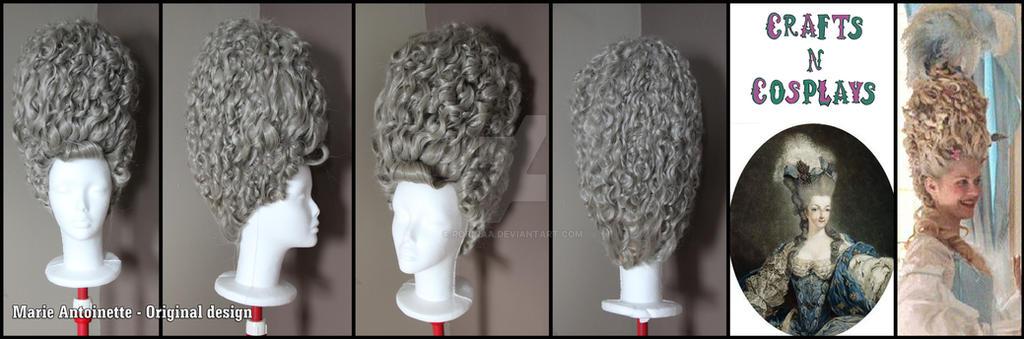 Marie Antoinette wig by Robinaa