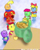 Baby Tweenies gets them cookie by stec-corduroyroad