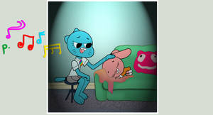 Gumball - Anais' Lullaby by stec-corduroyroad