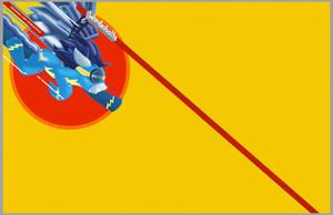 MLP Soarin' for Vengeance WALLPAPER by stec-corduroyroad