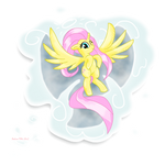 MLP Fluttershy the Cloud Angel