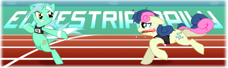 MLP Ponylimpics - Relay Race by Ste-C