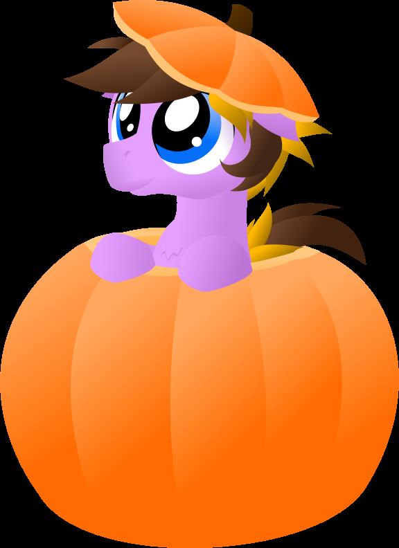 A pest in a pumpkin by Ste-C