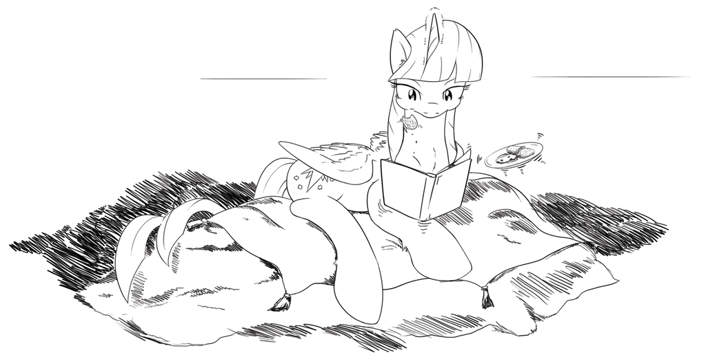 Twilight's ideal reading place #204 by stec-corduroyroad