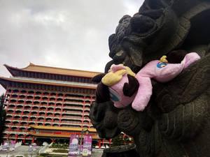 Cordy in Taiwan ~ Grand Hotel, Taipei